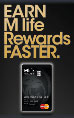 M life Rewards Mastercard
