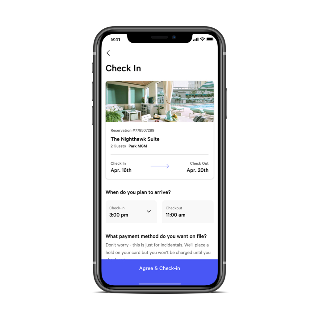 File Check Out Card mgm resorts mobile app | mgm resorts
